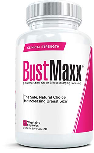 BustMaxx: The Most Trusted Breast Enhancement Pills | Natural Breast Enlargement and Female Augmentation Supplement for Breast Growth, 60 Capsules