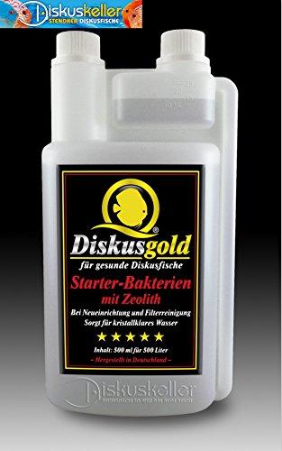 Diskusgold Starterbakterien mit Zeolith 500 ml