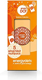 smartDOT EMF Radiation Protection - Protect from Wireless Radiation emitted by Cell Phones, Laptops, Wi-Fi Routers - Pack of 5 by energydots
