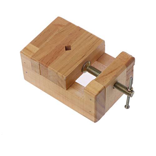 FangWWW Mini-Schraubstock, flach, Holz-Zange, zum Anklemmen, für Holzarbeiten, kleine Zange, Schnitzen, Gravieren