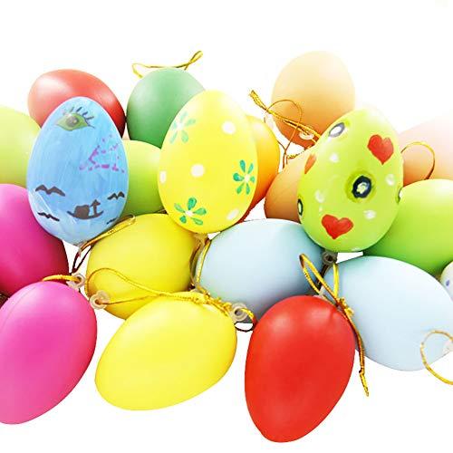 SJZV Los Huevos de Pascua de Plástico 2019 Artesanía Dan a los Niños Regalos 10pack