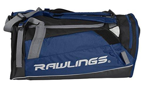 Rawlings Hybrid Duffel/Backpack Baseball/Softball Bag, Navy (R601-N)