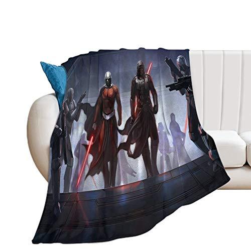 Trend Pattern - Manta para cama (130 x 100 cm), diseño de caballeros de la antigua República