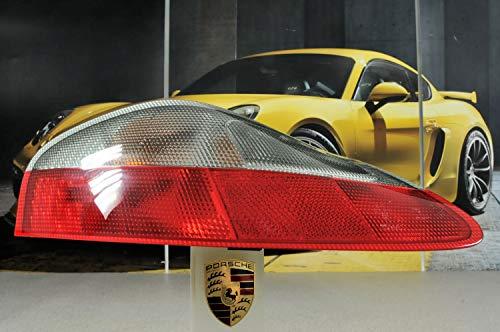 Producto nuevo. Porsche 986 Boxster - Luz trasera para bicicleta, color rojo y blanco