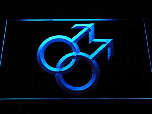 ADV PRO Enseigne Lumineuse i1062-b Proud of Gay Man Man Link Together Decor Neon Light Sign