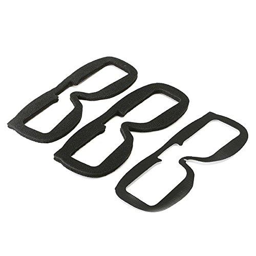 KINGDUO 2 Stück Fatshark Ersatz Faceplate Weiche Schaumstoffpolster Für FPV-Brille