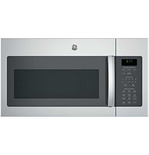 GE JVM6172SKSS 1.7 Cu. Ft. Stainless Steel Over-the-Range Microwave