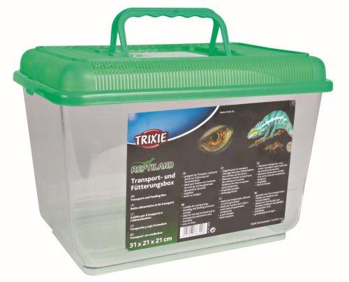 Trixie 76302 Transport- und Fütterungsbox, 31 × 21 × 21 cm
