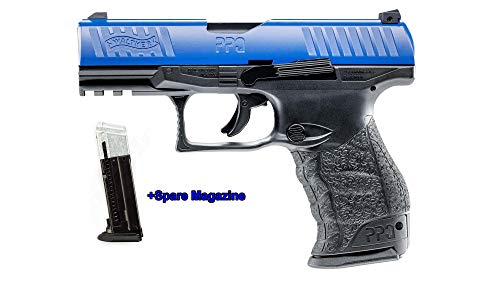 T4E New Walther PPQ LE M2 (GEN2) The Most Realistic.43cal CO2 Semi Auto Blow Back Paintball Pistol w/Extra Magazine