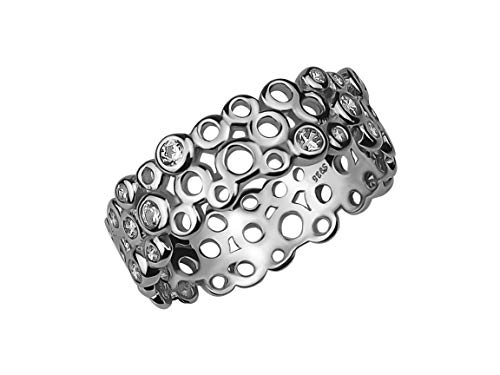 SOFIA MILANI Damen-Ring Ornament Kreise 925 Silber 10086 - (60 (19.1))