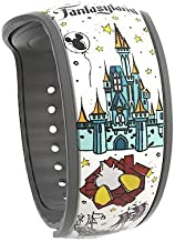 2019 Disney Parks Magic Band 2 White Limited Release Fantasyland Attractions