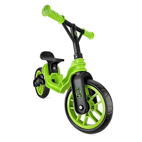 Xootz Folding Balance Bike (Green)