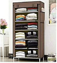 2001 International Commodious Brown Shoe Rack for Home & Furniture, Shoe Stand of 6 Tier