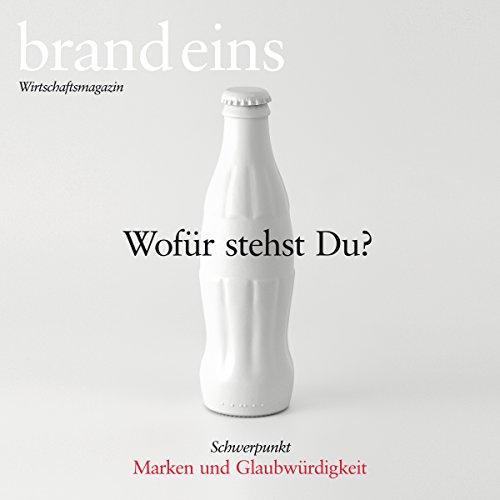 brand eins audio: Marken und Glaubwürdigkeit Titelbild