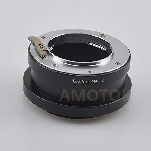 Exakta zu Nikon Z Adapter, Kompatibel mit Exakta / Auto Topcon Objektiv zu & für Nikon Z Mount Z6 Z7 Vollformatkamera