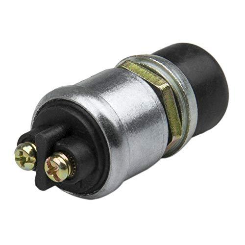 cherrypop Interruptor de arranque de motor resistente y momentáneo, 12 V, resistente a la intemperie, interruptor de arranque (50 amperios)