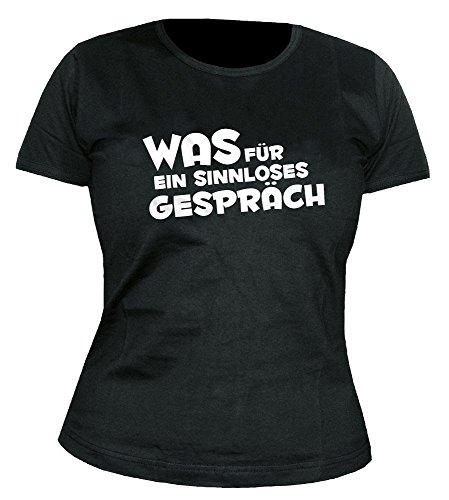Sascha Grammel - Was für ein sinnloses Gespräch - Girlie - Shirt Größe L