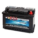 AGM Batterie Autobatterie 85AH AGM Gel Start Stop ersetzt 80Ah