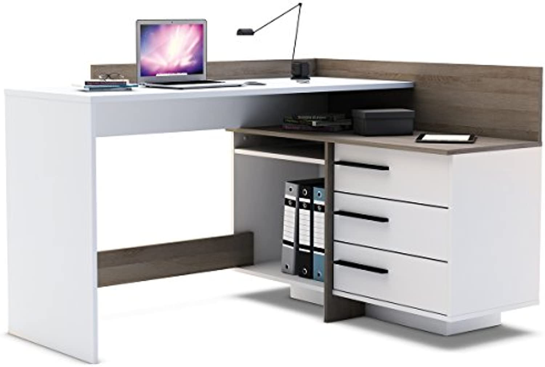 Eckschreibtisch Schreibtisch Arbeitstisch Bürotisch Computertisch  Thales