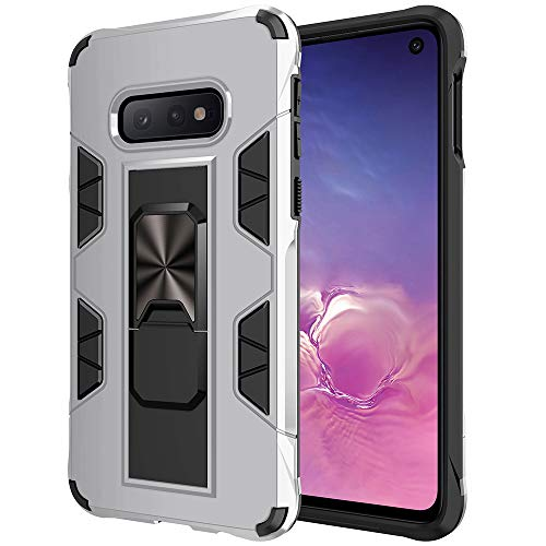 Samsung Galaxy Note 8 Case Military Grade Shockproof with Kickstand Stand Built-in Magnetic Car Mount Armor Heavy Duty Protective Case for Galaxy Note 8 Phone Case (Silver)