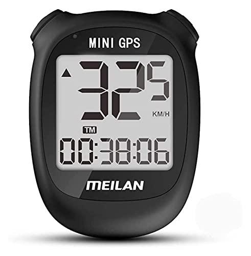 TONG GPS Road Mountain Bike Cronómetro impermeable velocímetro odómetro accesorios (color: negro)
