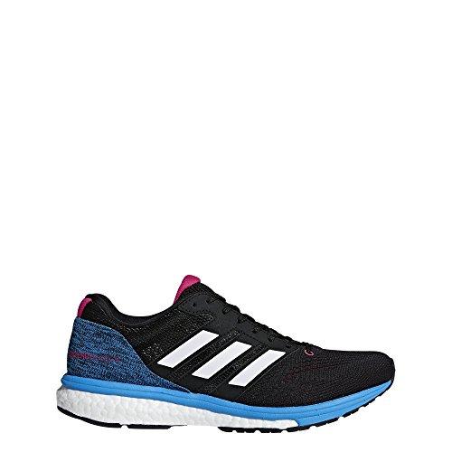 adidas Women's Adizero Boston 7 Running Shoes Black Size: 9 UK