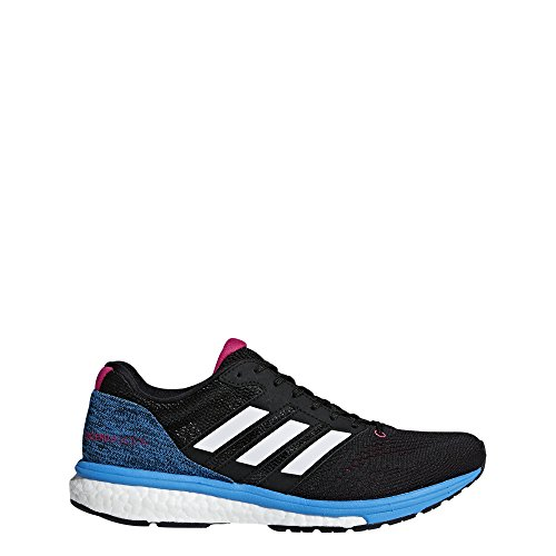adidas Women's Adizero Boston 7 Running Shoes Black Size: 9 UK