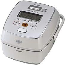 象印 炊飯器 極め羽釜 南部鉄器 5.5合炊き プライムホワイト NW-AT10-WZ