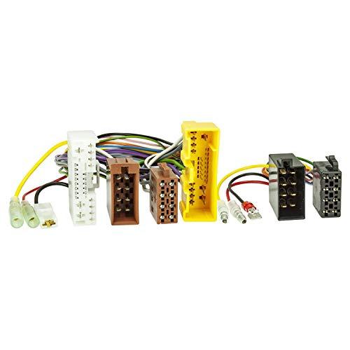 tomzz Audio 7333–000adaptador de derivación ISO (T de cable) para Mazda a...