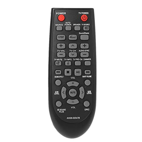 Sweo Ersatz-Fernbedienung für Samsung AH59-02547B HW-F450 HWF450 Soundbar