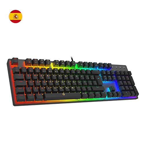 Drevo Tyrfing V2 Mechanische Gaming-Tastatur, 105 Tasten, Standard-Layout