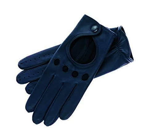 Roeckl Damen Young Driver Handschuhe, Blau (Navy 590), 6.5