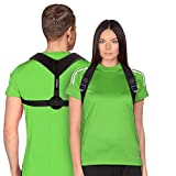 Posture Corrector for Women Men Back Brace for Shoulder Clavicle Neck Support Upper Back Pain Relief Products Spine Alignment Device Improve Universal Comfortable Fully Adjustable Spine Corrector