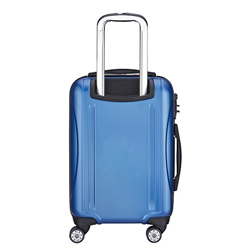 DELSEY Paris Small Carry-on, Blue Textured