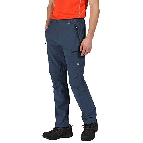 Regatta Mens Highton Polyamide Durable Walking Trousers