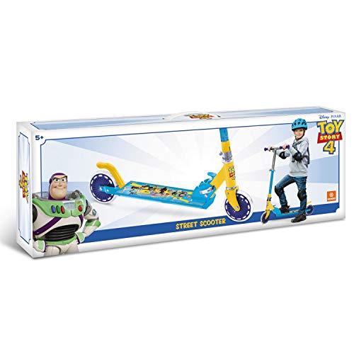 Mondo Toys - Monopattino in alluminio per bambino bambina Toy Story 4 - manubrio regolabile - 2 ruote - 28496