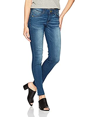 Democracy Women's Ab Solution Jegging, Blue, 4