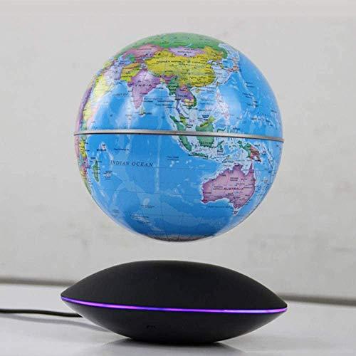 Drijvende World Map magnetische levitatie roterende ballon decoratie vorm van geld van het ministerie van Binnenlandse Zaken,een blauwe