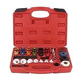 Gancon Kit de Herramientas de reparación de desconexión de línea de tubería de Combustible de Aceite de Manguera de Aire Acondicionado de Coche 22 unids/Set