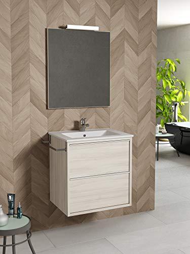 Azulejos Aroca Composición baño con Espejo, Lavabo y Mueble