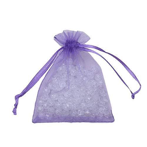 SeniorMar-UK Transparente Geschenktüte Schiere Taschen Schmuck Hochzeit Süßigkeiten Verpackung Geschenk Süße Hochzeiten Party Überraschung Paket Tasche