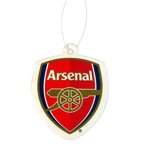 Arsenal FC Offizielles Fußball-Lufterfrischer, Auto-Zubehör, tolles Geschenk zu Weihnachten/zum Geburtstag, Geschenkidee für Männer und Jungen