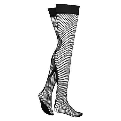 HUNKEMÖLLER Dames Stockings Snake I AM