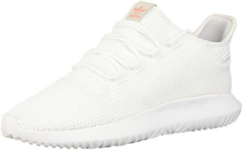 adidas Women's Tubular Shadow W, White/White/Core Black, 8.5 M US