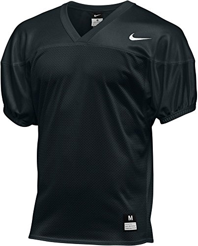 Nike Boys Football Core Practice Jersey TM Black/TM White Size X-Large