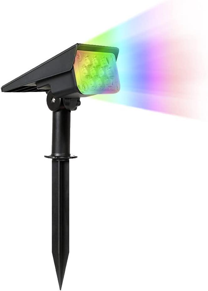 specialty shop MISS Z Adjustable Solar Spotlight Garden New arrival Brigh Super Light