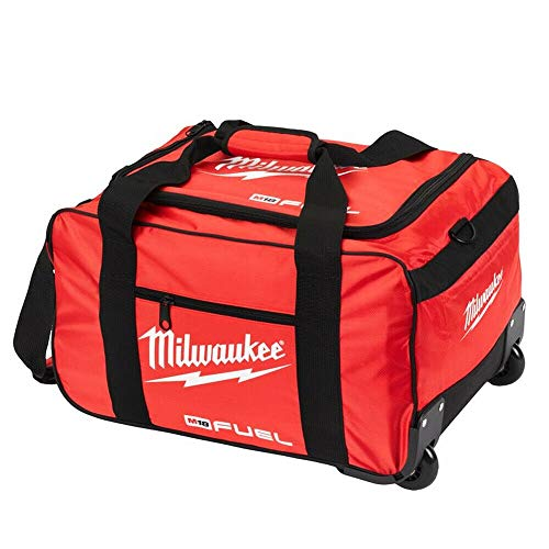 Milwaukee M18WHEELBAG-S M18 19' Fuel Large Contractors Heavy Duty Duffel Tool Bag with Wheels