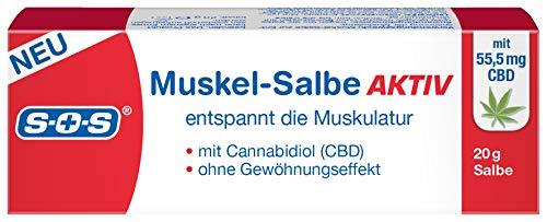 SOS Muskel-Salbe AKTIV, Salbe mit...