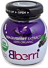 Bberri Extract (Maqui Berry 100% Organic) Pack of 6 x 2.5 fl oz