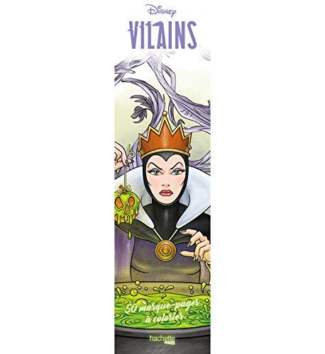 Marque-pages Disney Villains: 50 marque-pages à colorier